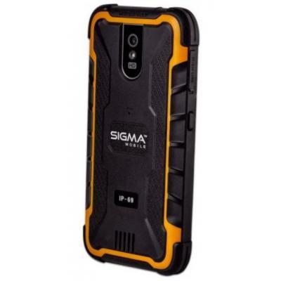 Мобильный телефон Sigma X-treme PQ29 Black Orange (4827798875520) 3