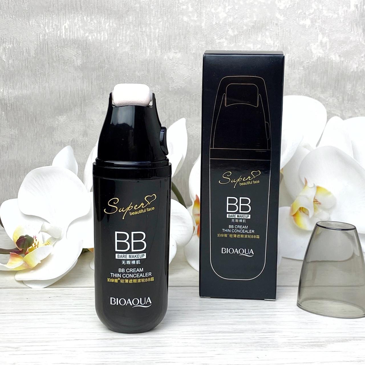 Роликовый bb-крем для лица bioaqua face cream thin concealer