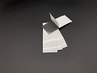 Магнітний вініл з клеєм. Розмір 35х95мм. 0.7 мм