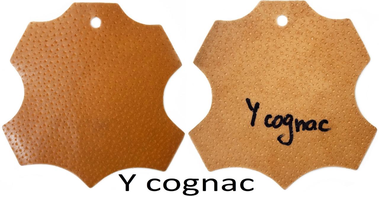 Кожа стелечная (подкладочная) воскованая цвет коричневая (Сognac)