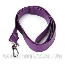 Довгий БДСМ повідець поліуретановий фіолетовий