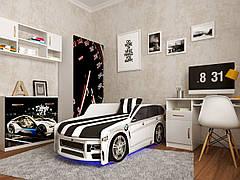 Ліжко дитяче Преміум 80х180 м'який спойлер+подушка ТМ Viorina-Deko