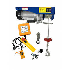 Тельфер электрический Husar Winch BST P 400/800 c пультом беспроводной