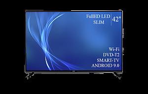 "Телевизор Bravis 42"" Smart-TV/Full HD/DVB-T2/USB Android 9.0"