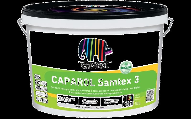 Глубокоматовая, стойкая к мытью латексная краска для гладких покрытий внутри помещений Samtex 3 E.L.F.