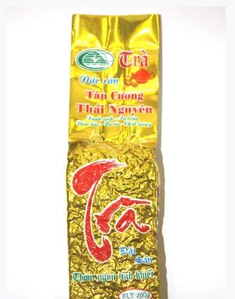 Вьетнамский зеленый чай Dac San Tan Cuong Thai Nguyen(Вакуум) 100г премиум класс