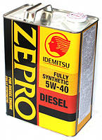 Масло моторное Idemitsu Zepro Diesel 5W40. 4л