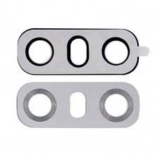 Стекло камеры LG H870 G6, H871, H872, H873, LS993, US997, VS998 с рамкой платиновое, Platinum