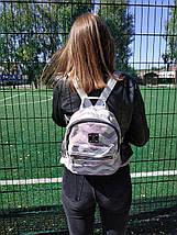 Рюкзак женский городской из текстиля с пайетками BR-S 1224917120, фото 2
