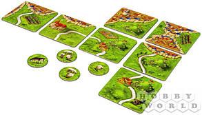Настольная игра Каркассон: Холмы и овцы (дополнение 9), фото 2