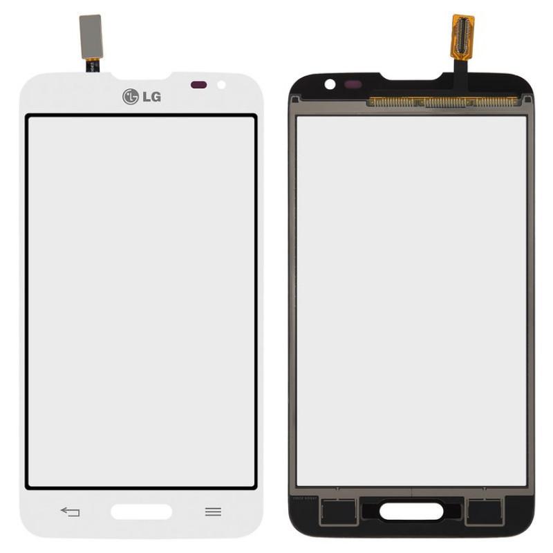 Сенсорный экран (тачскрин) LG D320 Optimus L70 | D321 | MS323, белый