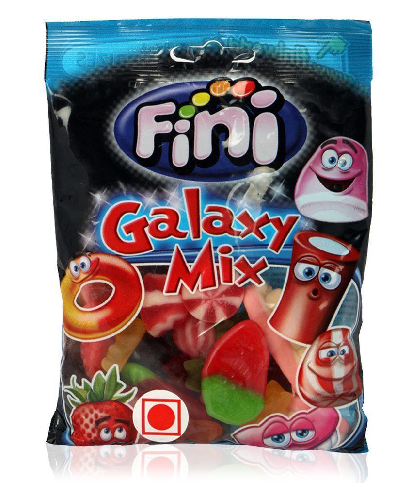 """Желейні цукерки """"Fini Galaxy mix """" мікс 100 грам"""