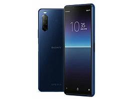 Смартфон Sony XQ-AU52 Xperia 10 II 4/128Gb Dual Berry Blue Qualcomm Snapdragon 665 3600 мАч
