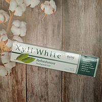 Now Foods Xyli-White Refreshmint Toothpaste Gel 181 g,зубная паста-гель Нау фудс без фтора