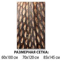 Виниловая наклейка на стол Шишка, под дерево деревянный самоклеющаяся двойная пленка, коричневый 60 х 100 см, фото 2