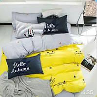 Качественное постельное белье двухспалка, привет осень