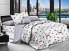 Комплект красивого постельного белья, двухспалка, сон