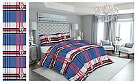 Качественное стильное постельное белье полуторка, квадраты