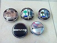Колпачки в титаны AMG