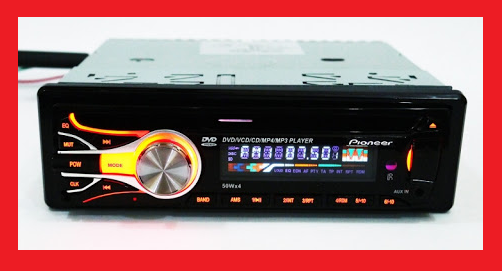 DVD Автомагнітола Pioneer 3227 USB+Sd+MMC знімна панель