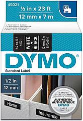 Картридж  S0720610 с пластиковой лентой системы D1 для  термопринтеров DYMO 12мм х 7 м