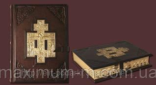 Библия большая с литьем 009л