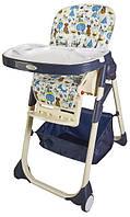 Стульчик для кормления Wonderkids Rico, синий детский стульчик для кормления