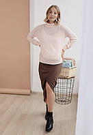 Юбка замшевая для беременных
