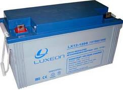 LUXEON LX12-120G - 12В - 120 А/ч - гелевый аккумулятор для котла
