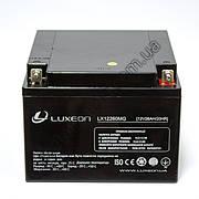 LUXEON LX1226MG  - 12В - 26 А/ч  - мультигелевый аккумулятор для котла