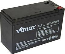 VIMAR B7,5-12 - 12В - 7,5 А/ч  - мультигелевый аккумулятор для ИБП, УПС, UPS, ДБЖ, бесперебойника