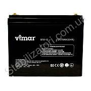 VIMAR B70-12В 70Ah - 12В - 70А/ч - мультигелевый аккумулятор для котла