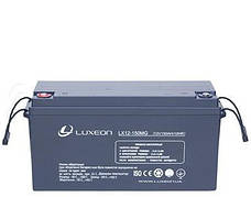 LUXEON LX12-150MG  - 12В - 150 А/ч  - мультигелевый аккумулятор для котла