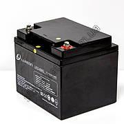 LUXEON LX12-40MG  - 12В - 40 А/ч (RITAR - RA12-40)  - мультигелевый аккумулятор для котла