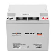 LogicPower LPM-MG 12V 40AH - 12В - 40А/ч  - мультигелевый аккумулятор для котла