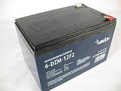 MERLION 6-DZM-12 - 12В - 12 А/ч тяговый аккумулятор под клемму