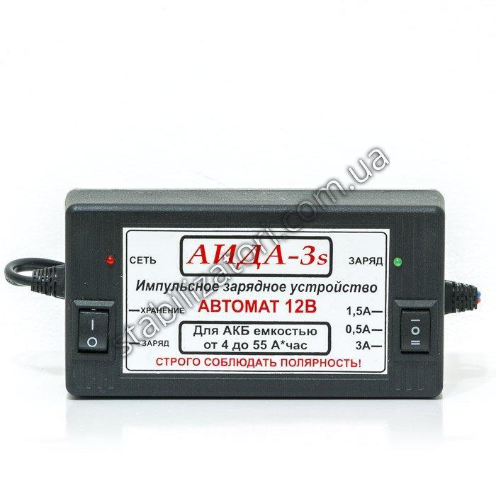 АИДА-3s - зарядное устройство для аккумуляторных батарей