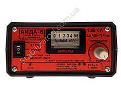 АИДА-6 с перекл гел/кисл - Зарядное для гелевых, мультигелевых, AGM, кислотных, аккумуляторов