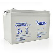 MERLION AGM GP12-100 12V 100AH - мультигелевый аккумулятор для котла