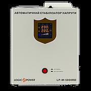 Стабилизатор напряжения LP-W-5000RD белый 3000Вт Стабилизатор для насоса скважины Настенный Навесной