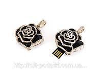 Флеш-накопитель «Черная роза» 4 Гб, 8 Гб, 16 Гб