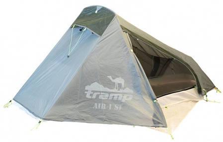 Одноместная палатка Tramp Air 1 Si TRT-093 Grey, фото 2
