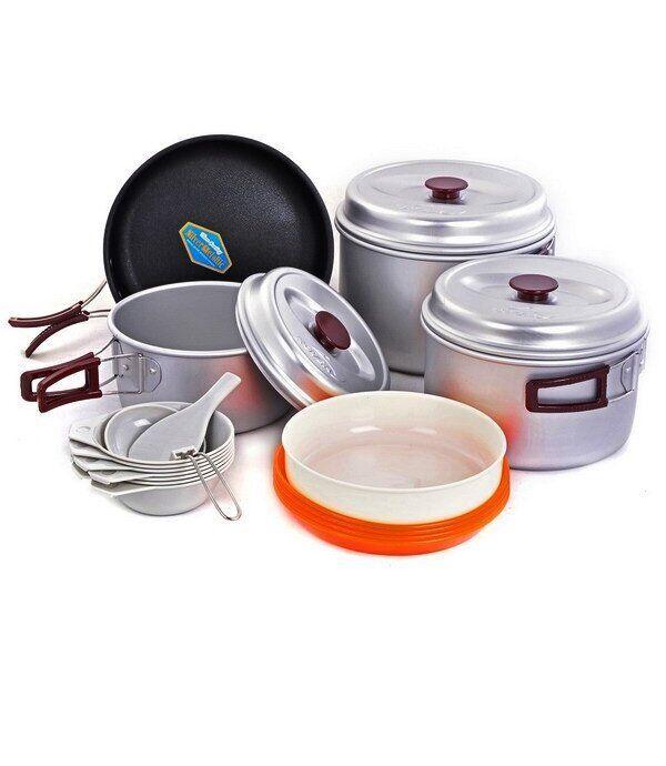 Набір туристичного посуду Kovea KSK-WY78 Silver 78