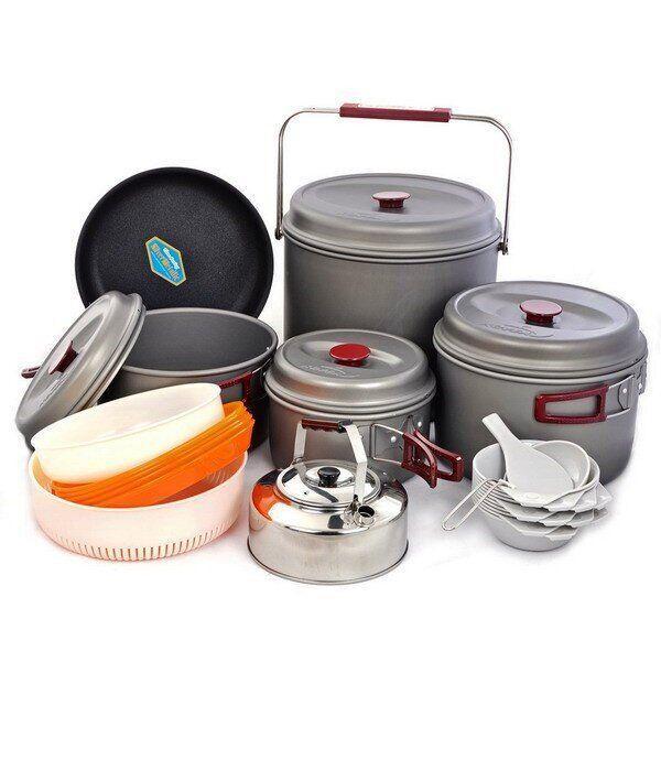 Набір туристичного посуду Kovea KSK-WH10 Hard 10
