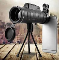 Монокуляр Panda (Панда) Монокль 40х60 + тренога + крепление для смартфона