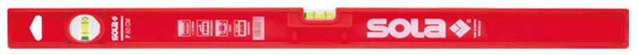 Рівень будівельний пластиковий P 60, 600 мм, 2 акрилові колбі, точність 0,5 мм\/м, фото 2