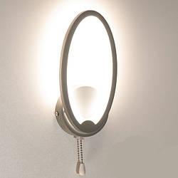 Настінний світильник світлодіодний колір сірий 9W Diasha&1673/1GR