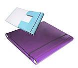 Папка-короб на резинке, А4, 25 мм, PP-покрытие, фото 5