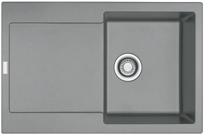Кухонные мойки Franke Кухонная мойка Franke Maris MRG 611, 114.0565.117, серый камень
