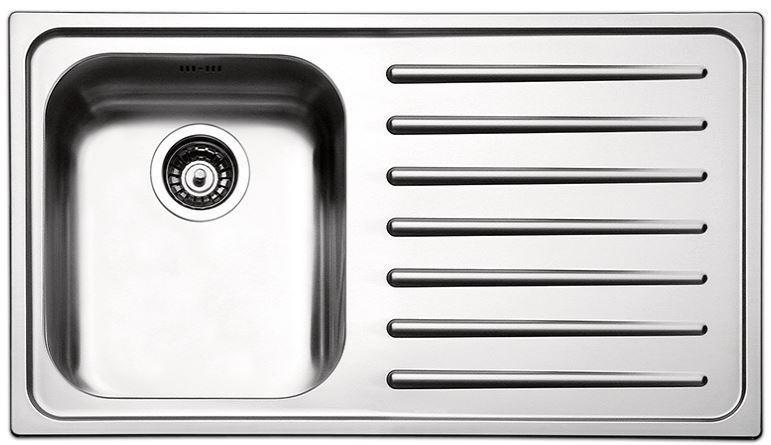 Кухонные мойки Apell Кухонная мойка из нержавеющей стали Apell Torino TO861IRBC, полированная